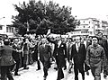 Celebrating the anniversary of the Kataeb in 1971 (William Hawi and Pierre Gemayel).jpg