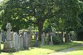 Cemetery on Queensferry Road at the top of Orchard Brae - geograph.org.uk - 513052.jpg