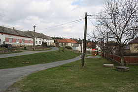 Center of Stropešín, Třebíč District.jpg