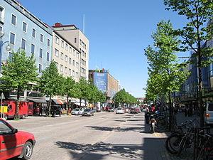 Centre of Lahti