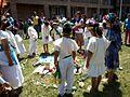 Ceremonia azteca de bienvenida a la primavera en Ayahualulco, Veracruz, México. 06.jpg