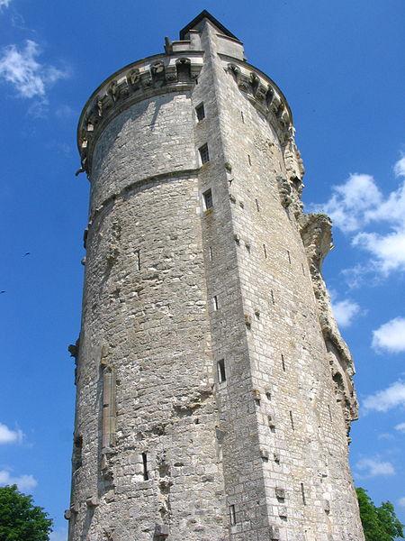 Tour du château de Mehun sur Yèvre (18).