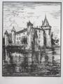 Château de La Brède - Jules-Léon Perrichon -1920.png