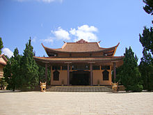 Truc Lam temple in Da Lat