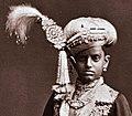 Chama Rasendra Wadiar Bahadur in Mysore, India, 1870 (cropped).jpg
