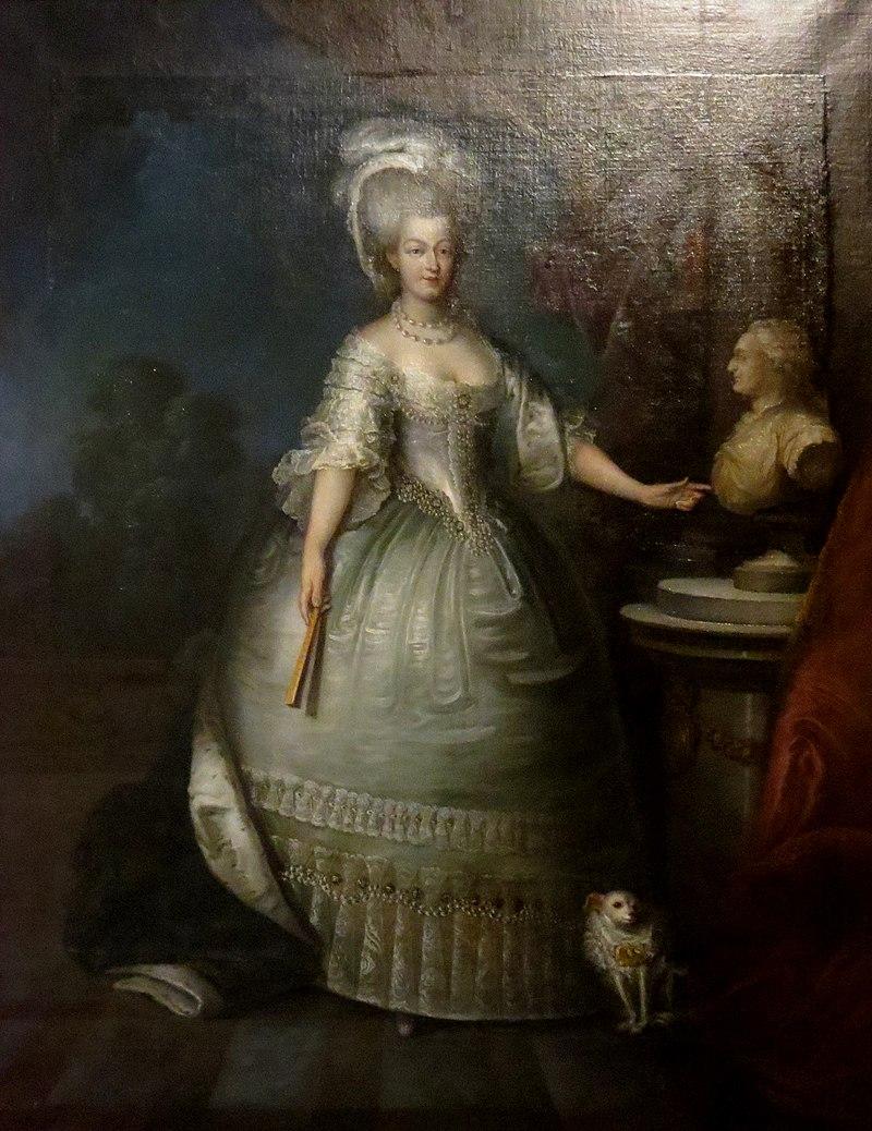 Chambord - tableau Marie-Antoinette d'Autriche.jpg
