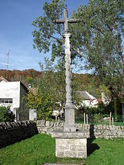 croix de cimetière de Chamesol