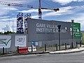 Chantier Station Métro Villejuif Institut Gustave Roussy Villejuif 3.jpg