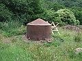 Charcoal kiln beside Aber Falls trail - geograph.org.uk - 1938566.jpg