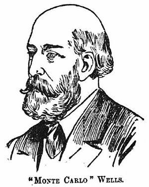 Charles Wells (gambler) - Charles Deville Wells
