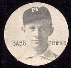 Charlie Babb (baseball) - Image: Charlie Babb Chip