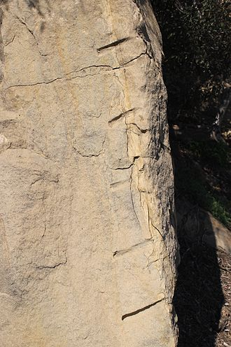 Stoney Point (California) - Remnants from the Charlton Quarry