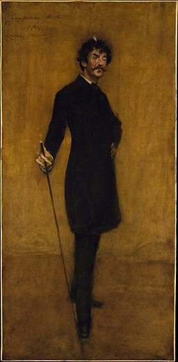 Chase William Merritt James Abbott McNeill Whistler 1885