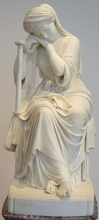 File Chauncey Bradley Ives Ideal Figure With Harp