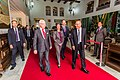 Chegada do rei da Suécia Carlos XVI Gustavo ao Palácio dos Bandeirantes (33913514936).jpg