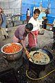 Chicken Deep-frying Technique - Kolkata 2014-01-27 7559.JPG
