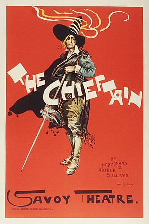 The Chieftain - Poster showing Scott Fishe as Ferdinand de Roxas