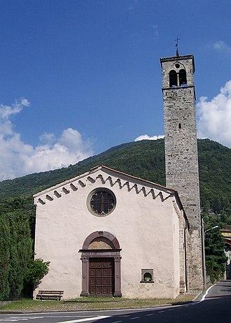 Artogne - Church of Santa Maria to Elizabeth