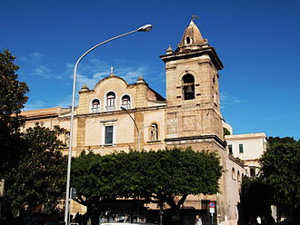 Olivia of Palermo - The Church of St Francis of Paola in Palermo, on the site of the former Church of St. Olivia.