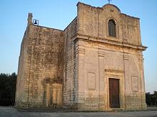 Chiesa bizantina di Santa Marina sui resti del casale di Stigliano