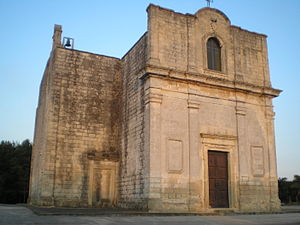 Carpignano Salentino - Image: Chiesa di Santa Marina a Stigliano (Carpignano Salentino LE)