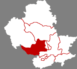 Location in Chengde