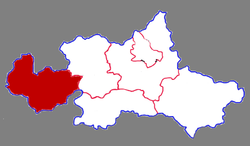 Location in Tai'an