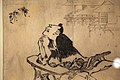 Chinese philosopher Soshi contemplating two flying butterflies-IMG 9341.JPG