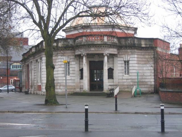 Chorlton Library - geograph.org.uk - 3760