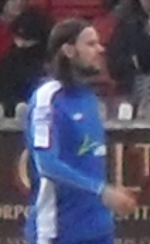 Chris Blackburn - Blackburn with Wrexham.