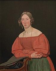 Portrait of the Artist´s Sister, Cecilie Margrethe Petersen,  née Købke