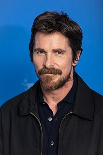 Christian Bale British actor