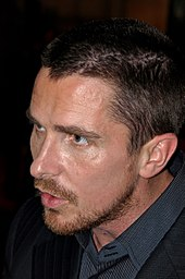 Photographie de Christian Bale.