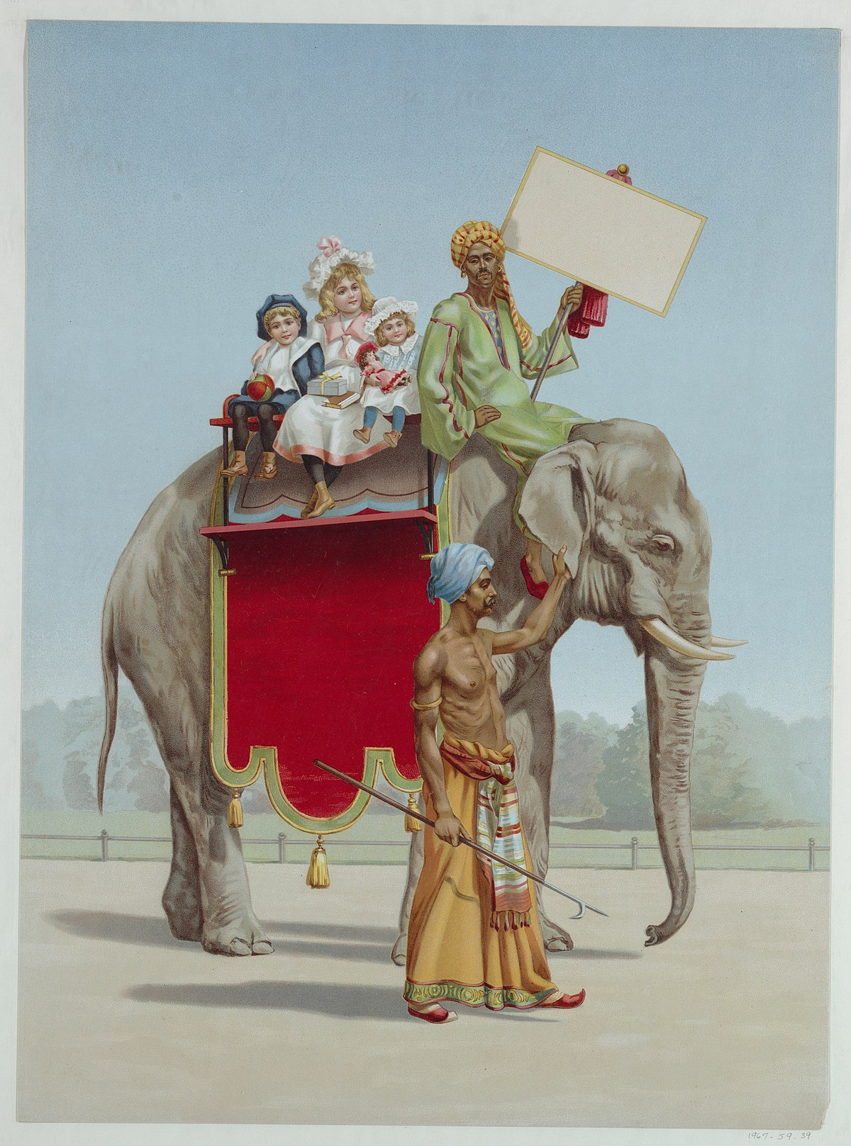 File:Chromolithograph Print, Advertising poster, ca. 1898 ...
