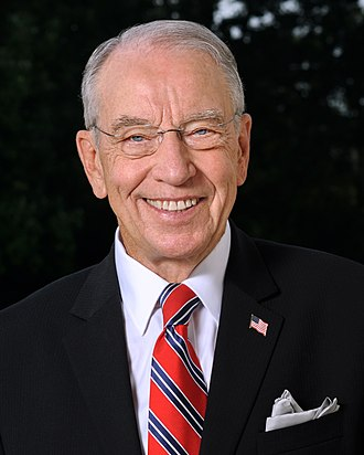 President pro tempore of the United States Senate - Image: Chuck Grassley official photo 2017