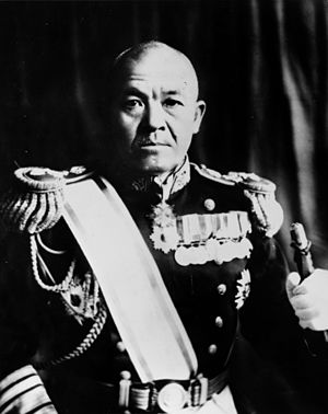 Battle of the Eastern Solomons - Japanese Vice Admiral Chuichi Nagumo