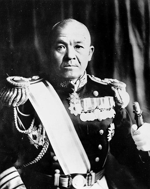 Адмирал Нагумо - командующий японским флотом.