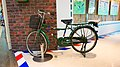 Chunghwa Post bicycle at Waiting Room C7 20131124.jpg