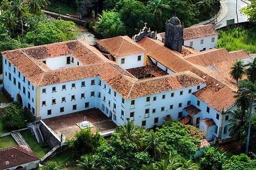 Church of Our Lady of the Snows, Saint Roch Chapel and San Francisco Convent. Church of Our Lady of the Snows, Saint Roch Chapel and San Francisco Convent - Olinda, Pernambuco, Brazil.jpg