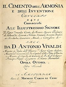 The Four Seasons (Vivaldi) - Wikipedia
