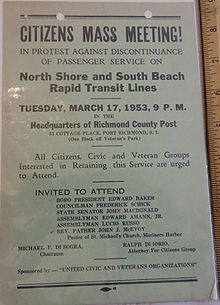Citizens Mass Meeting in Protest Against Discontinuance of Passenger Service on North Shore and South Beach Rapid Transit Lines March 17, 1953.jpg