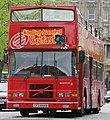 City Sightseeing Belfast bus 3 (CFZ 6549) 1997 Volvo Olympian Alexander (Belfast), Belfast, 16 April 2011.jpg