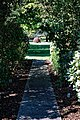 City of London Cemetery Memorial Garden paved path and lawn 2.jpg