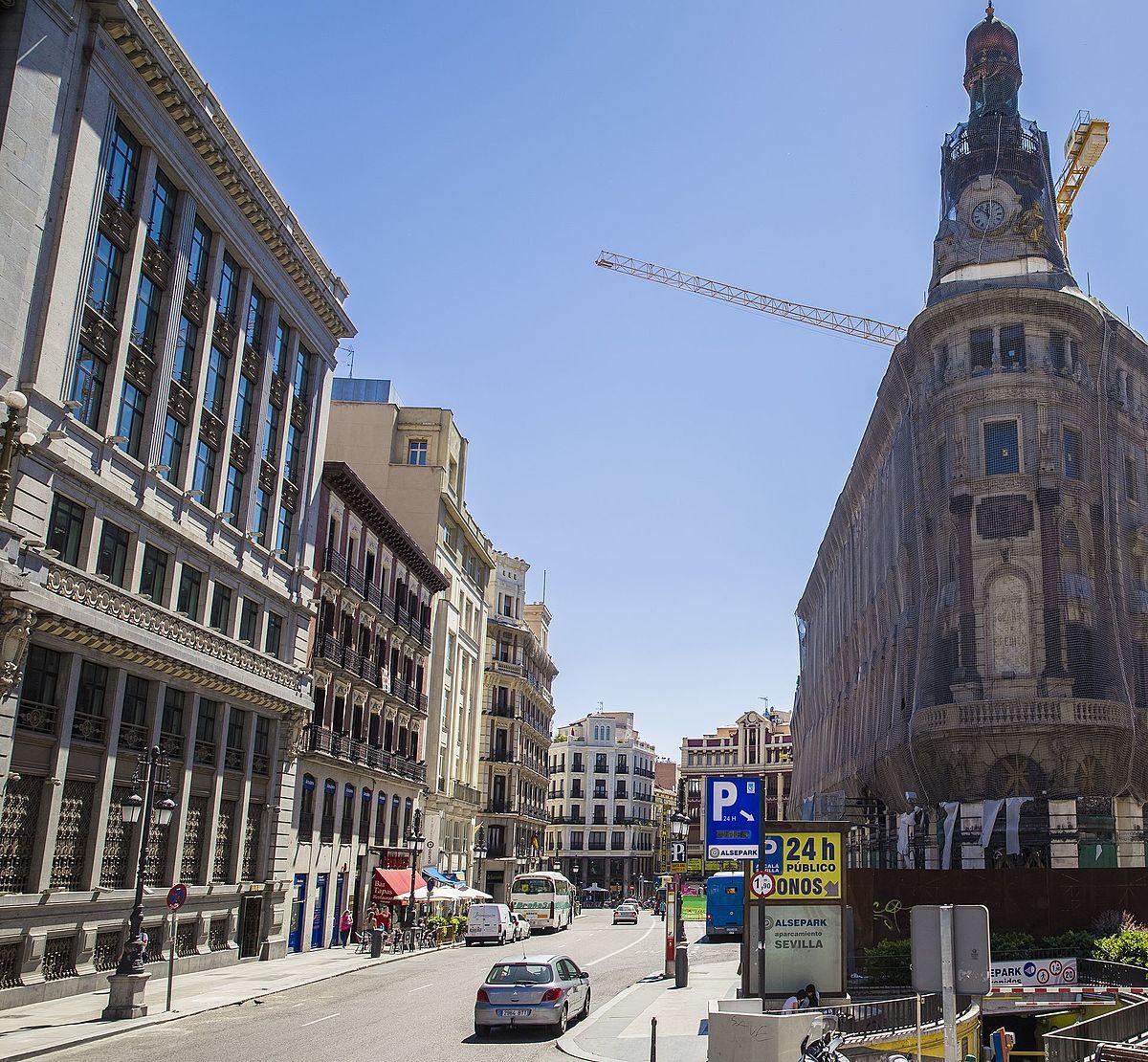 Calle de sevilla madrid wikipedia la enciclopedia libre - Calle correduria sevilla ...