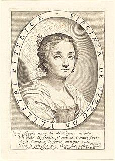 Virginia Vezzi Italian painter (1601-1638)