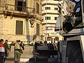 Cleanup after Hosni Mubarak's departure, Cairo, Egypt (from Al Jazeera) - 20120212-07.jpg