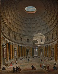 Interior of the Pantheon, Rome (1974.39)
