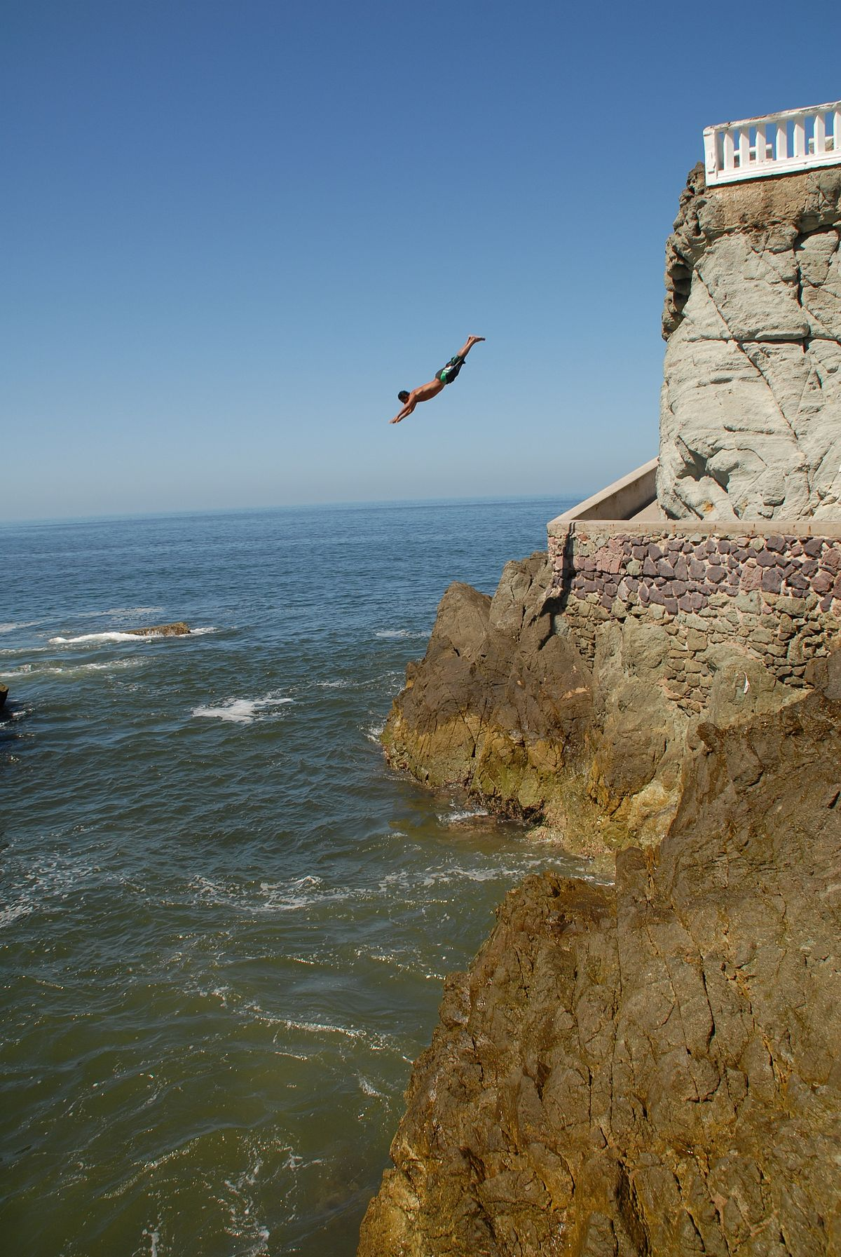 Klifduiken wikipedia - Highest cliff dive ever ...