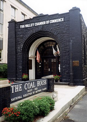Williamson, West Virginia - The Coal House in Williamson, West Virginia