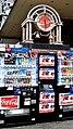 Coca-Cola Clock Sign 時計, vending machine, Ropongi Tokyo, Japan (45041977702).jpg
